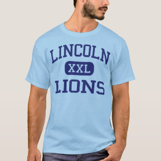 Lincoln - Lions - High - Jersey City New Jersey T-Shirt