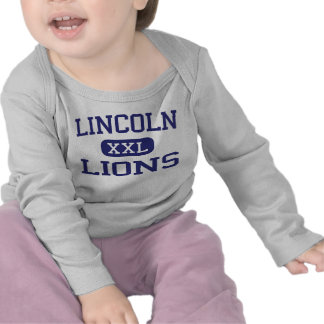 Lincoln - Lions - High - Jersey City New Jersey T Shirt
