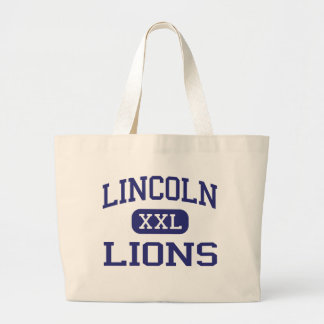 Lincoln - Lions - High - Lincoln Rhode Island Tote Bags