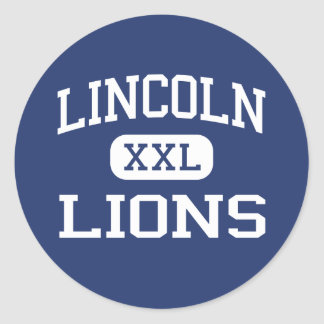 Lincoln - Lions - High - Lincoln Rhode Island Stickers