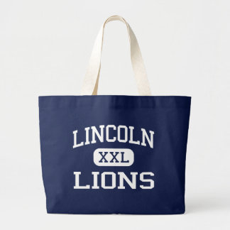 Lincoln Lions Middle Birmingham Alabama Tote Bags