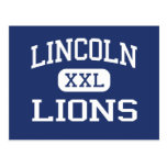 Lincoln Lions Middle Lancaster Pennsylvania Postcard
