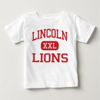 Lincoln - Lions - Middle - Santa Monica California Tee Shirts
