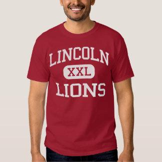 Lincoln - Lions - Middle - Santa Monica California Tshirt