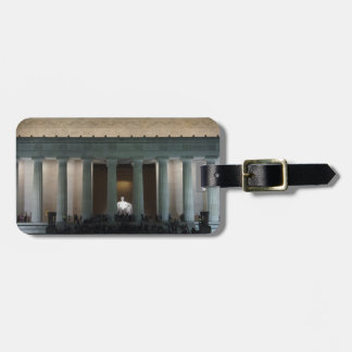 Lincoln Luggage Tag