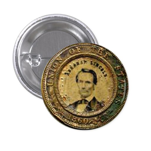 Lincoln Medal - Button
