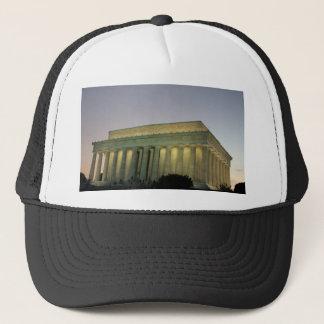 Lincoln Memeorial night scene Trucker Hat