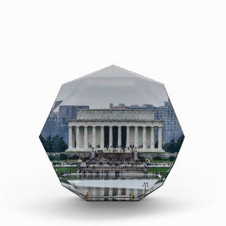 Lincoln Memorial Acrylic Award