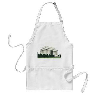 Lincoln Memorial Adult Apron