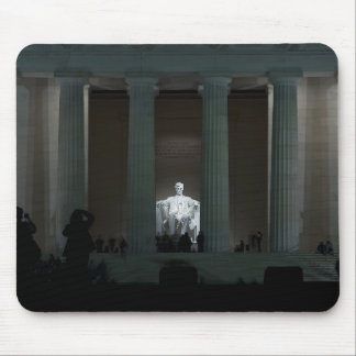 Lincoln Memorial at night Mouse Pad