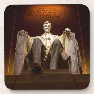 Lincoln Memorial At Night - Washington D.C. Coaster