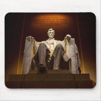 Lincoln Memorial At Night - Washington D.C. Mouse Pad