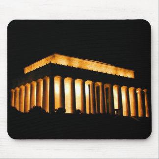 Lincoln Memorial at night, Washington, D.C. Mouse Pad