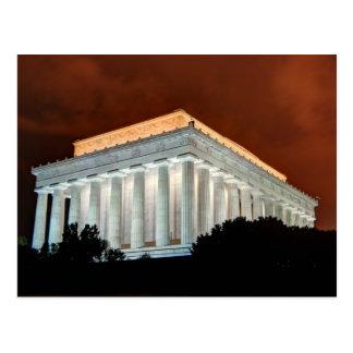 Lincoln Memorial at Night  - Washington DC Postcards