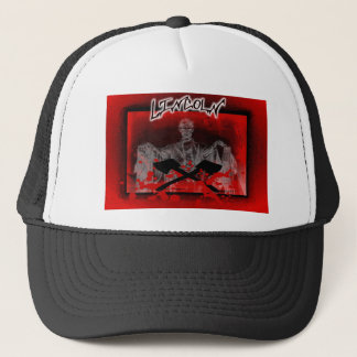Lincoln Memorial-Axes Trucker Hat
