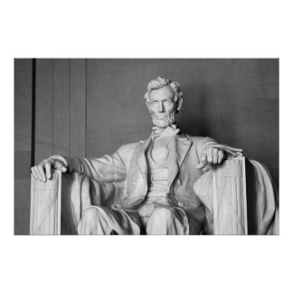 Lincoln Memorial B@W Print