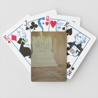Lincoln Memorial Bicycle Playing Cards