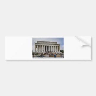 Lincoln Memorial Bumper Sticker