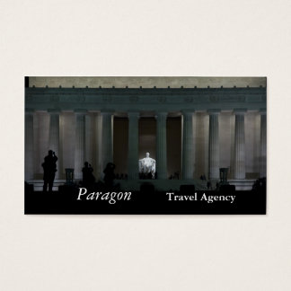 Lincoln Memorial Business Card