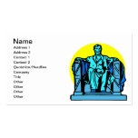Lincoln Memorial Business Card Template