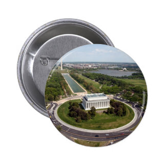 Lincoln Memorial Pinback Buttons