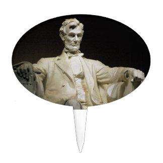 Lincoln Memorial Cake Pick