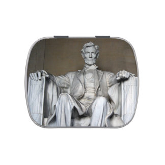 LINCOLN MEMORIAL CANDY TINS