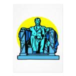 Lincoln Memorial Custom Announcements