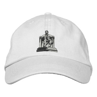 Lincoln Memorial Embroidered Baseball Hat