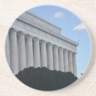 Lincoln Memorial from the side.JPG Drink Coaster