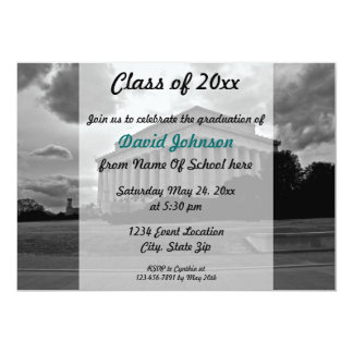 Lincoln Memorial Graduation Invitation