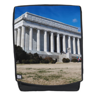 Lincoln Memorial in Washington DC Backpack