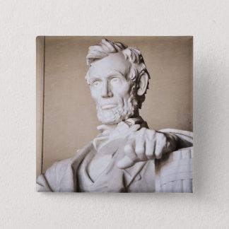 Lincoln Memorial in Washington DC Button