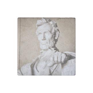 Lincoln Memorial in Washington DC Stone Magnet