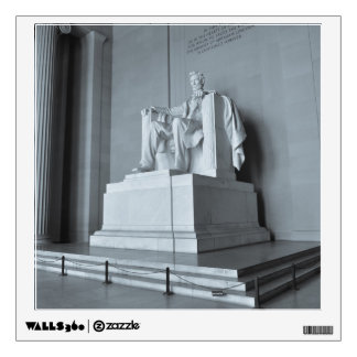 Lincoln Memorial in Washington DC Wall Decal