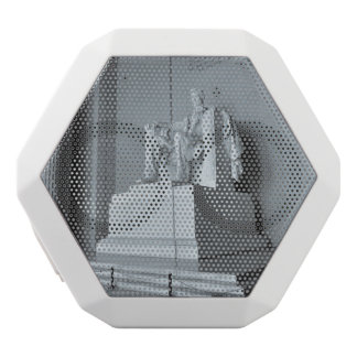 Lincoln Memorial in Washington DC White Bluetooth Speaker