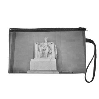 Lincoln Memorial in Washington DC Wristlet