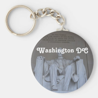 Lincoln Memorial Keychain