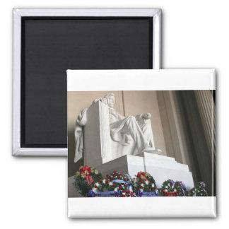 lincoln memorial Lincoln Status Magnet