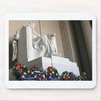 lincoln memorial Lincoln Status Mouse Pad
