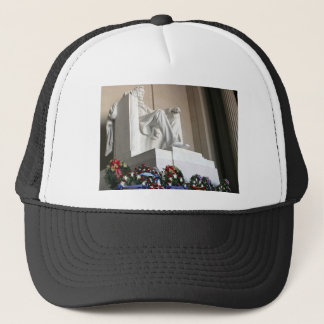 lincoln memorial Lincoln Status Trucker Hat
