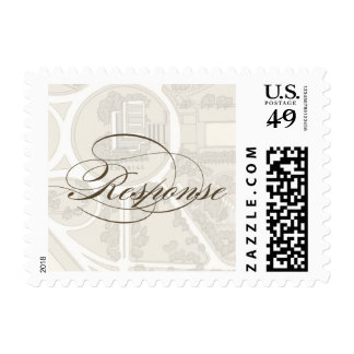 Lincoln Memorial Map rsvp stamp