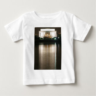Lincoln Memorial Night Reflection Baby T-Shirt