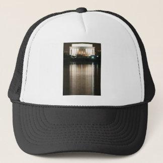 Lincoln Memorial Night Reflection Trucker Hat