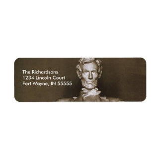 Lincoln Memorial Personalized Address Labels