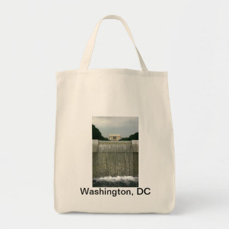 Lincoln Memorial Photography Grocery Tote Bag