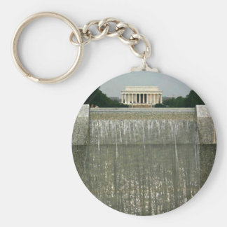 Lincoln Memorial Photography Keychain