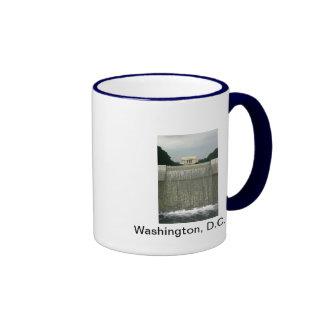 Lincoln Memorial Photography Ringer Mug