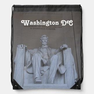 Lincoln Memorial Cinch Bag