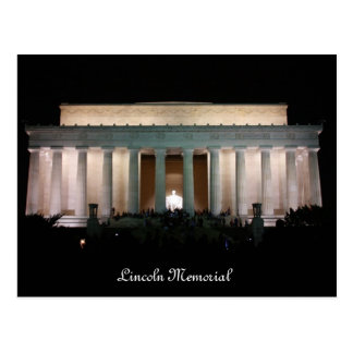 Lincoln Memorial Post Cards